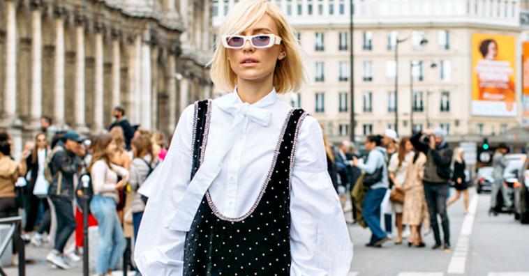 15 стильных street style образов с Недели моды в Париже