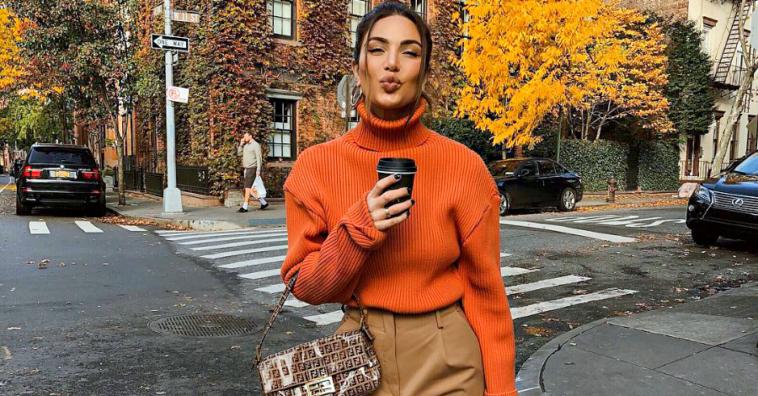 Неджин Мирсалехи: 15 стильных осенних образов модницы из Амстердама