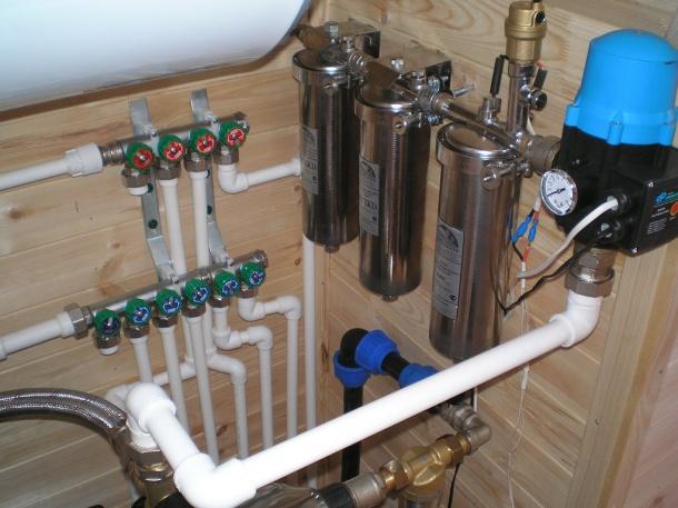 Система водоснабжения в загородном доме