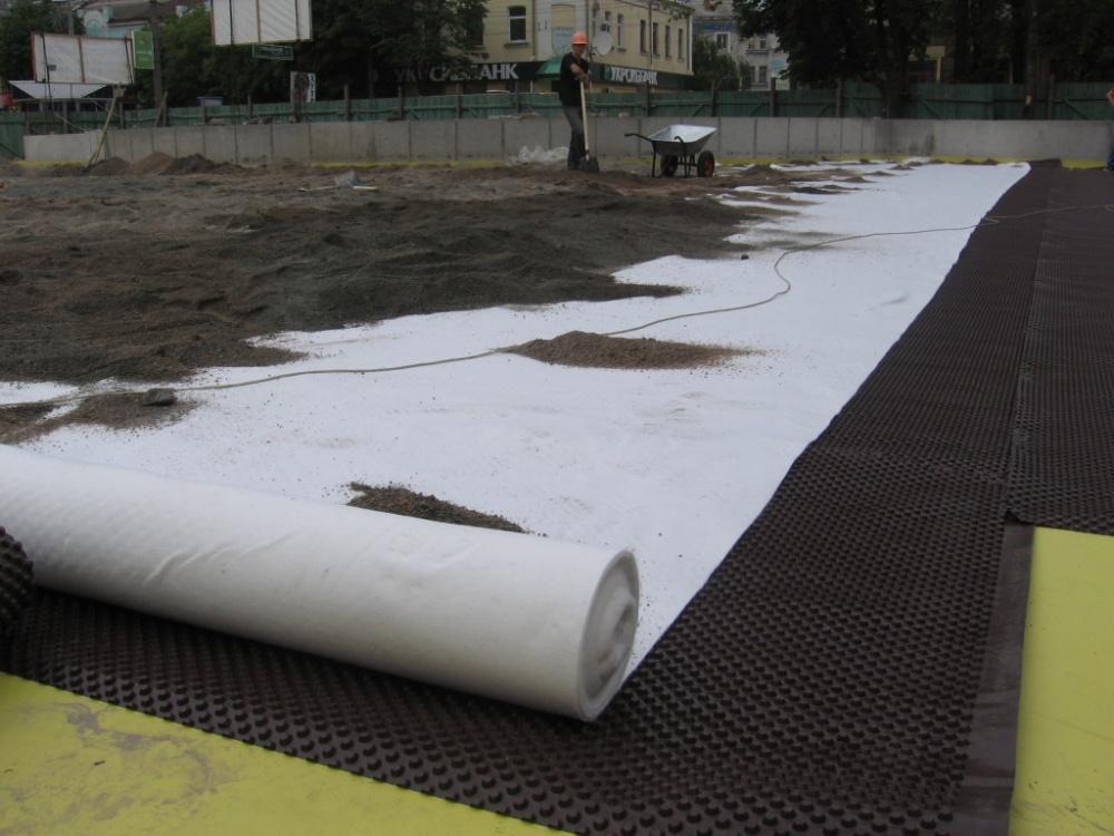 Место геотекстиля и других нетканных материалов в строительстве