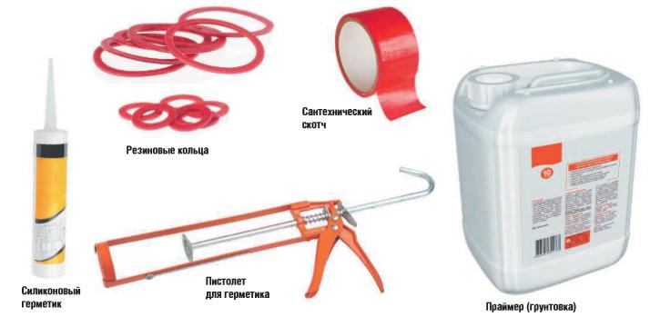 Виды материалов для сантехнических работ