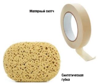 Виды материалов и приспособлений для малярных работ