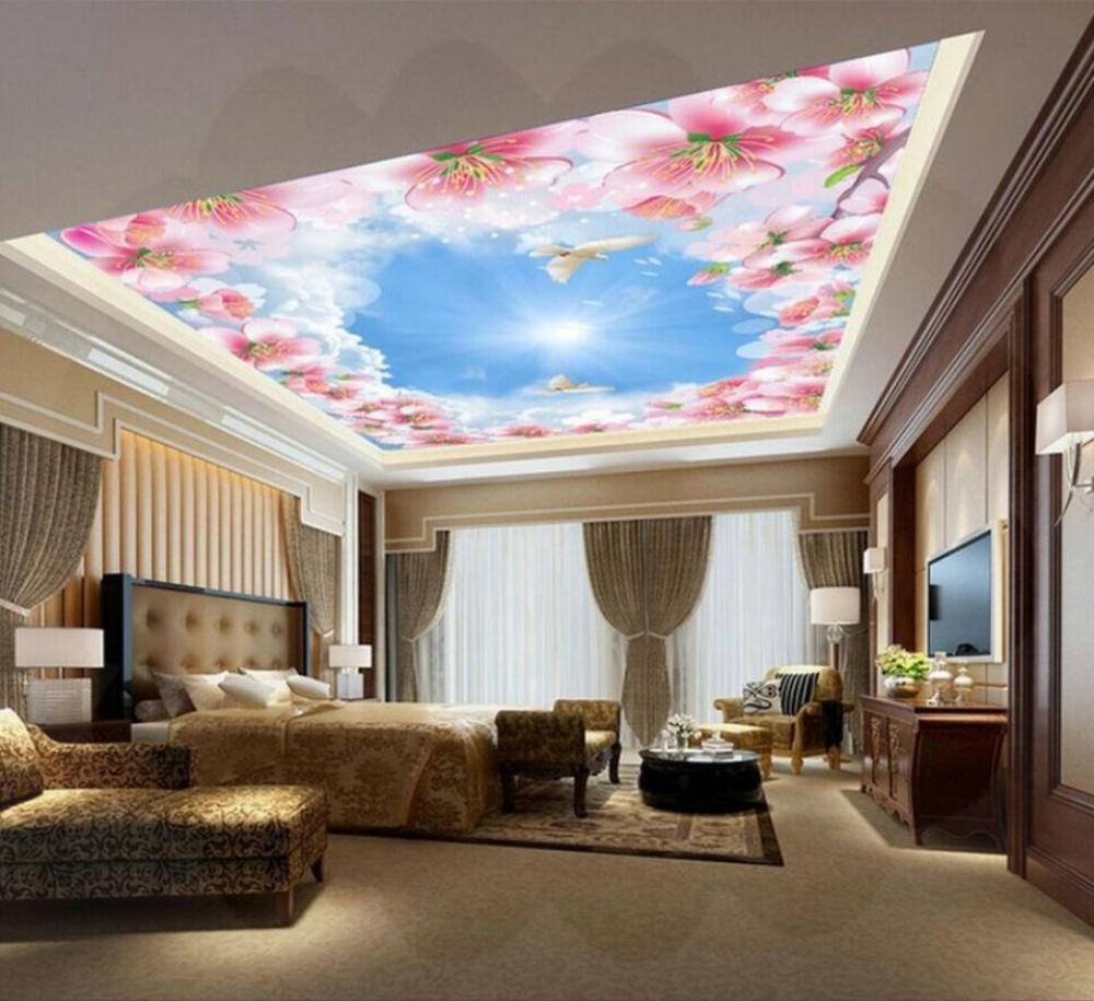 Лаковые и матовые натяжные потолки