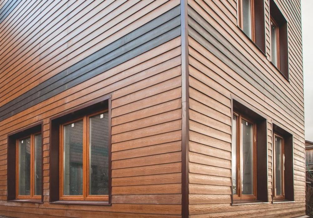 Виниловый сайдинг в строительстве - легкая облицовка фасадов