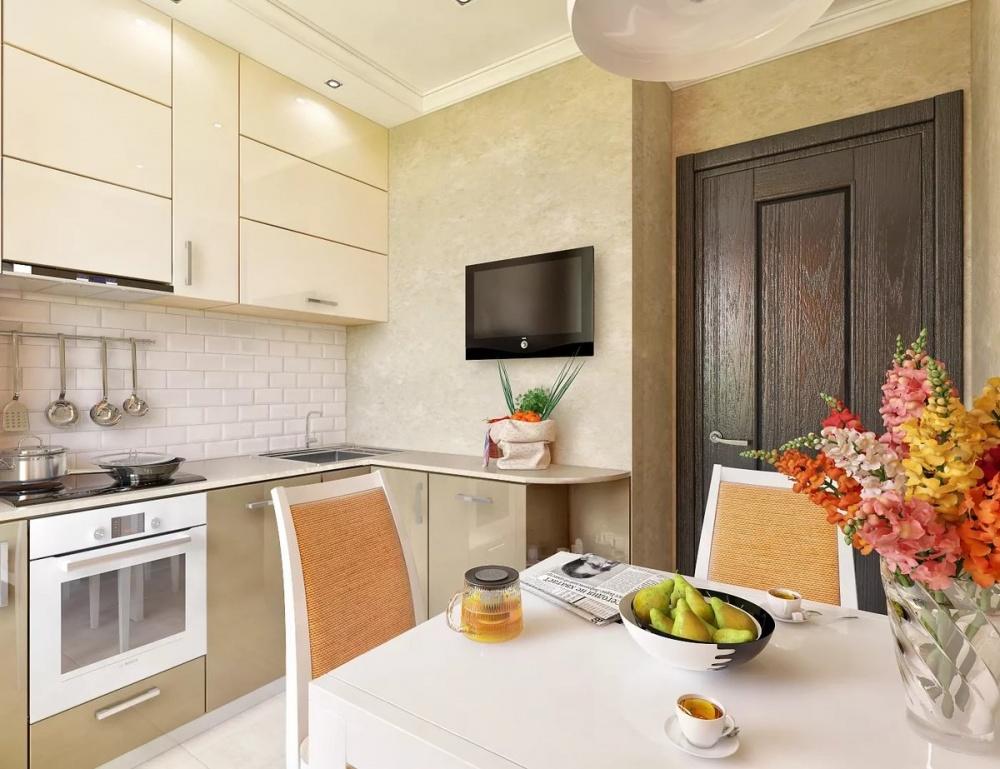 Как оформить кухню в 6 «квадратов»? Предлагаем решение проблемы!